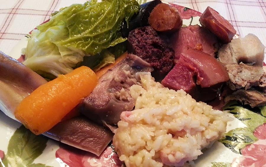 Almoço de domingo no inverno…. Cozido à Portuguesa