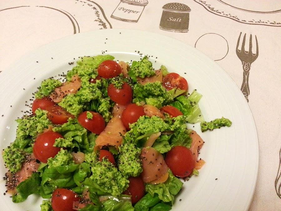 Uma salada simples e rápida porque estou cheia de pressa…