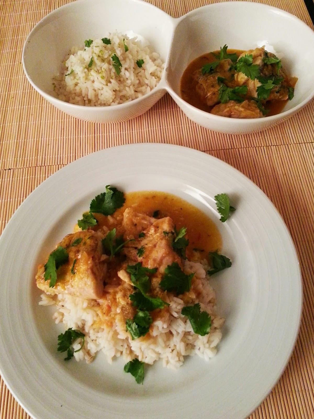 Garoupa em aromas cítricos com arroz de coco e lima
