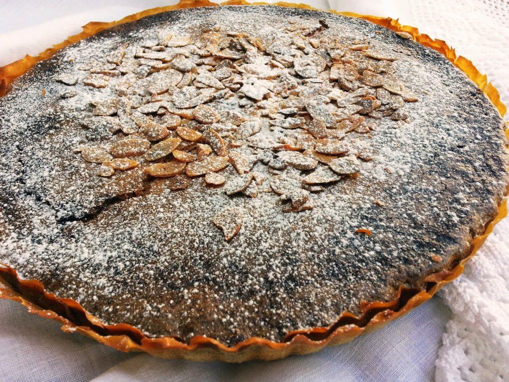 tarte de amêndoa e coco