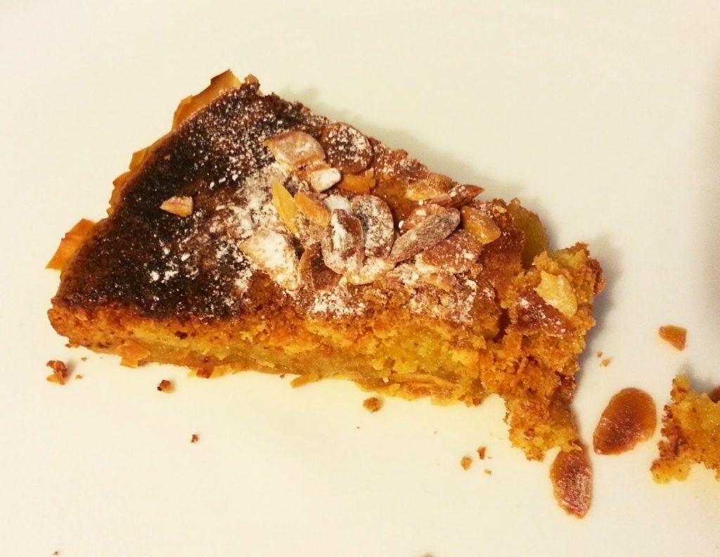 tarte de amêndoa com coco