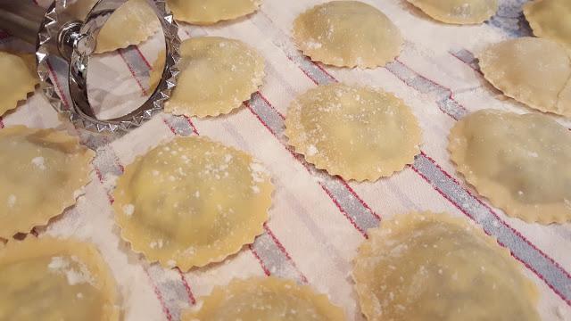 receitas de raviolis
