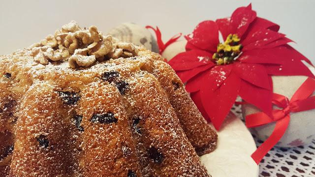 Bolo natalício de frutos secos # Sugestões de Natal