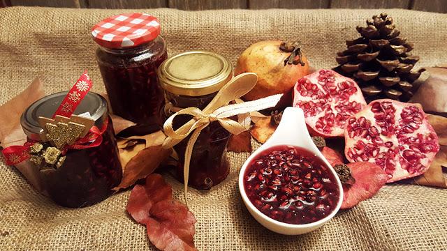 Doce de romã # Sugestões de Natal