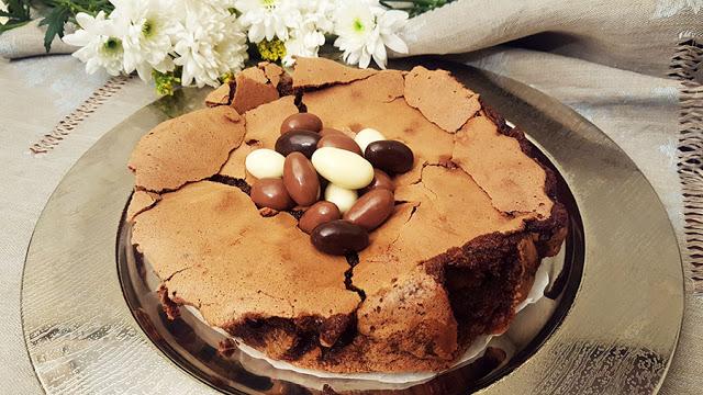 Pão de ló cremoso de chocolate # Sugestões de Páscoa