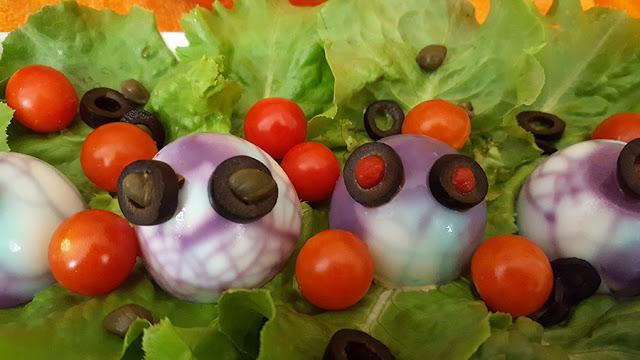 Salada de Halloween