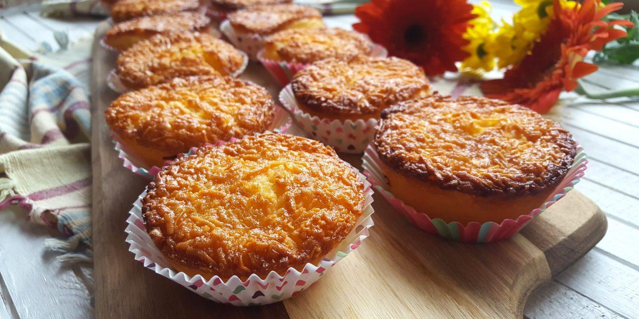 Queijadas de queijo flamengo