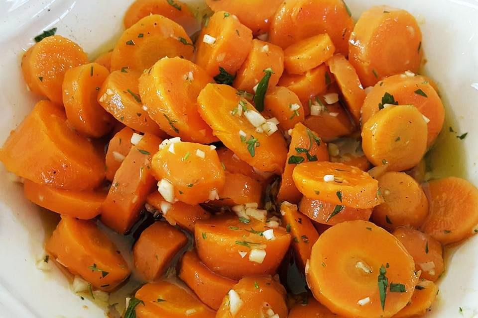Cenouras à Algarvia