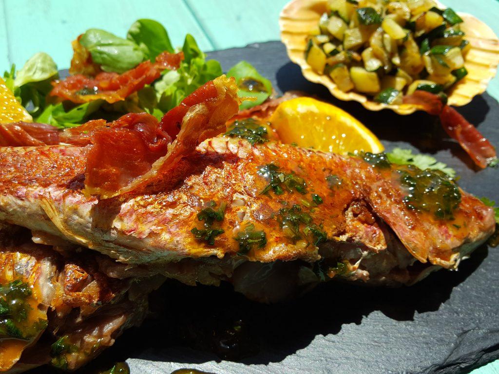 receitas de salmonetes