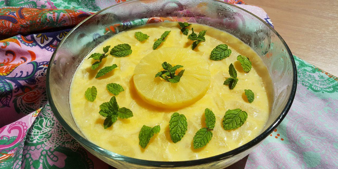 Bavaroise de ananás