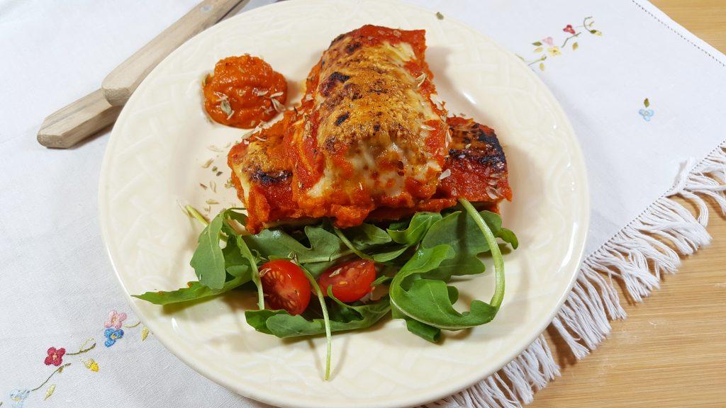 rolinhos de queijo e tomate