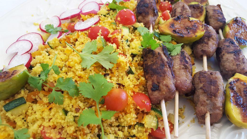 como fazer kebabs