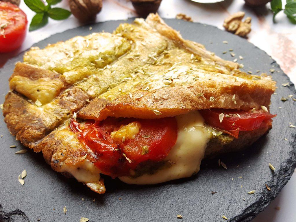 sandwich com pesto