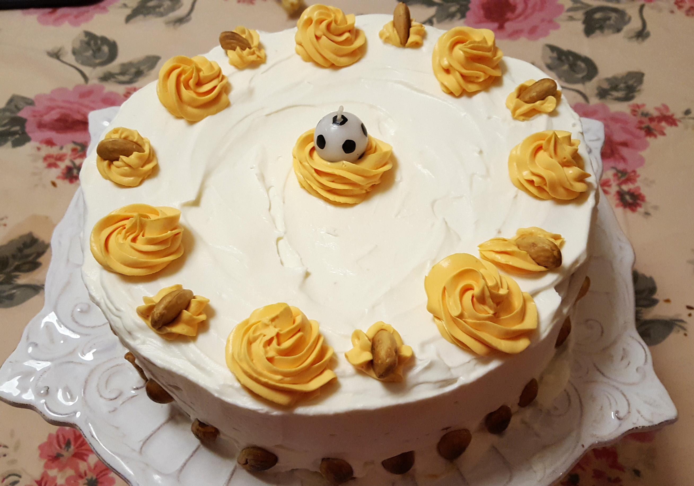 bolo de amêndoa