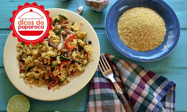 Como cozinhar millet # Dicas da Paparoca