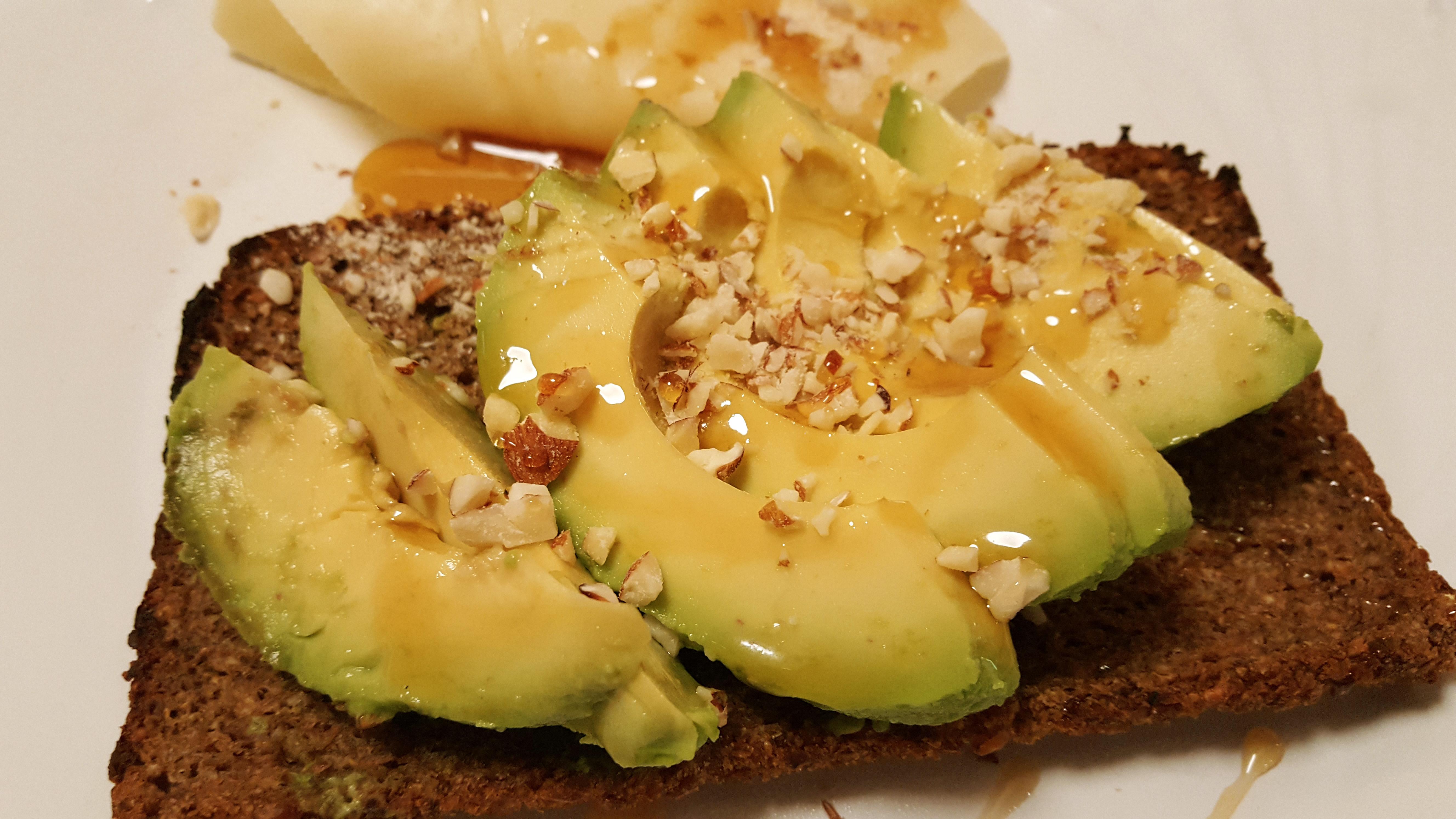 tostas de abacate