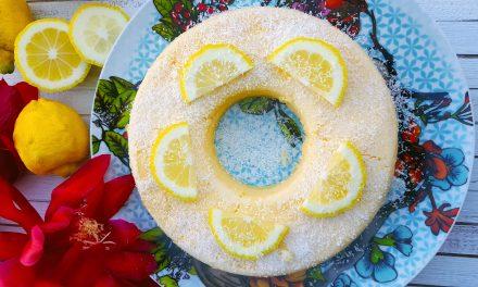 Quindim de coco e limão