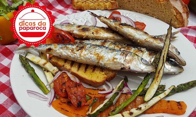 Dicas para escolher e cozinhar sardinhas