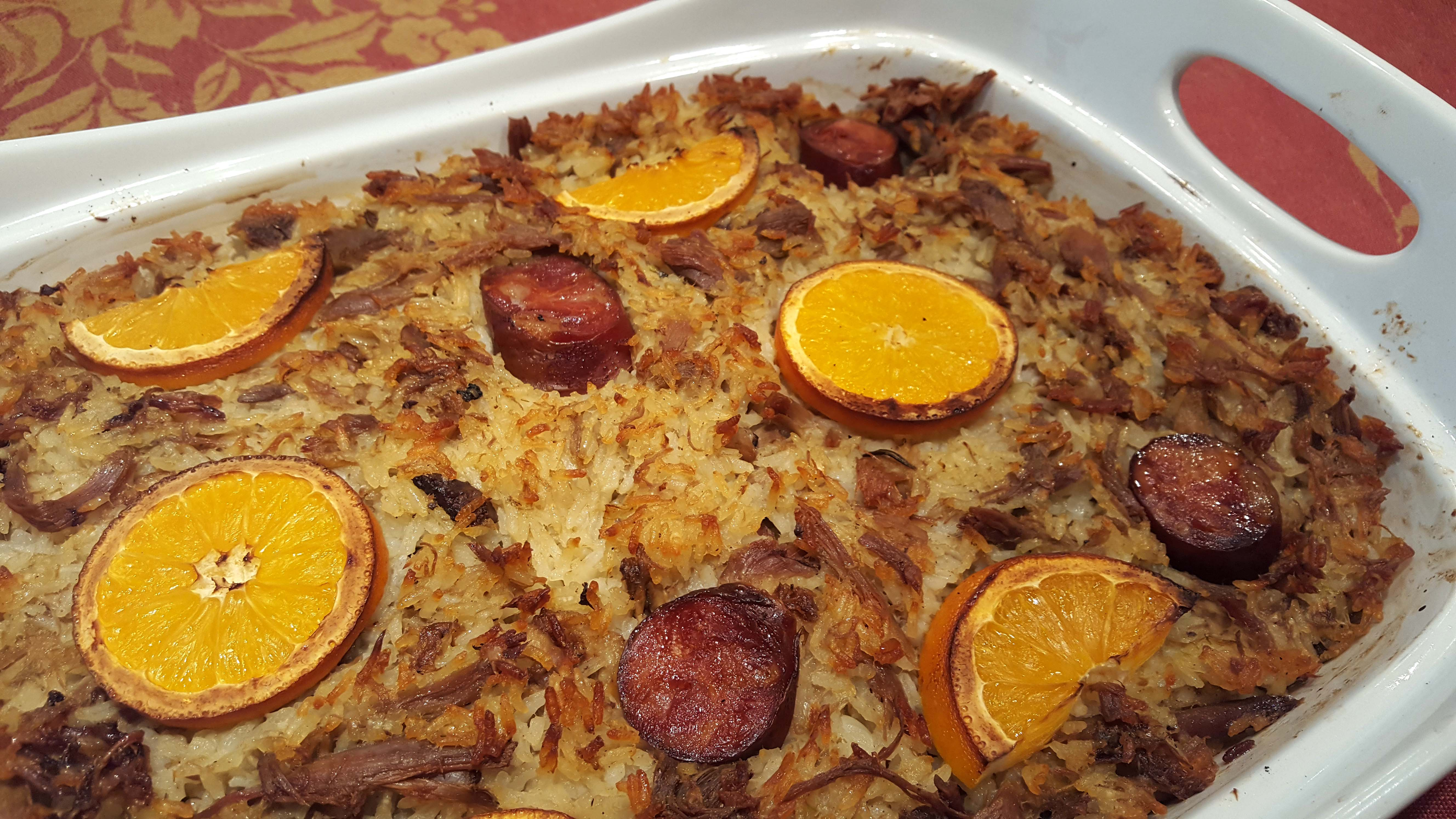 arroz de pato assado