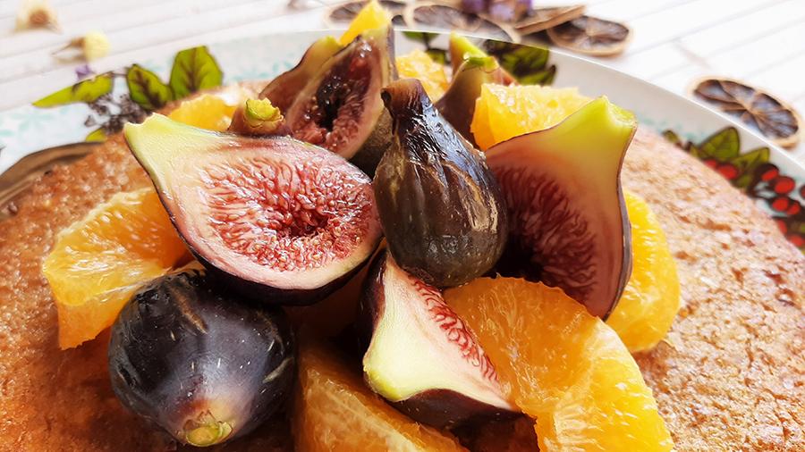 Delícia de figo e amêndoa